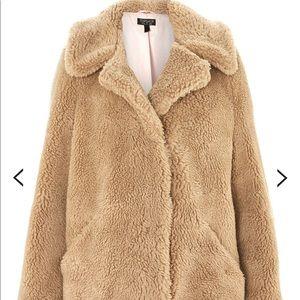 Top Shop Teddy Sherpa Coat